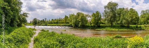 Fotografia river Traisen near Herzogenburg, Lower austria