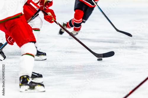 Canvas Print Ice hockey sport indoor stadium game