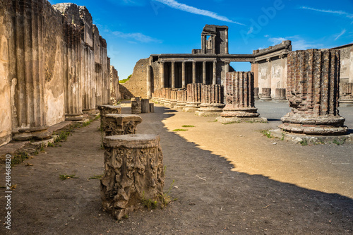 Wallpaper Mural Ruins of Pompeii - Naples Province,Campania, Italy