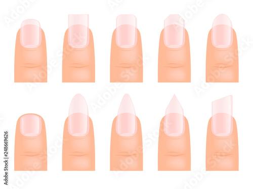 Fotografia Manicure nails