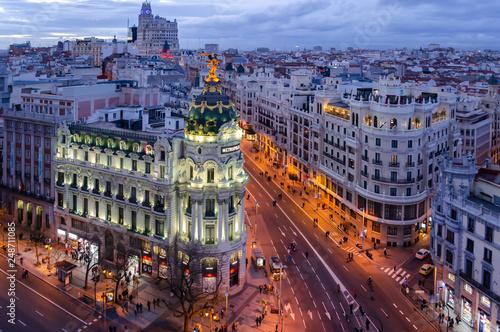 Gran Via, Madrid.