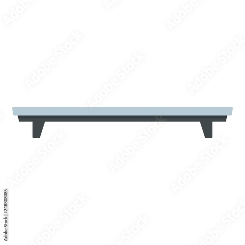 Sport bench icon Fototapeta
