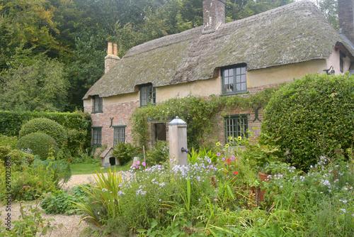 Fotografia, Obraz Thomas Hardy cottage near Higher Bockhampton in Dorset