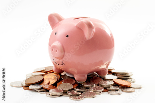 Save money, financial planning of personal finances and being thrifty concept th Fototapeta