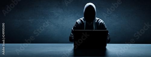 Foto Hacker - Cyber Kriminalität