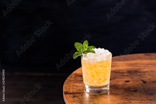 Refreshing Bourbon Mint Julep Cocktail Poster Mural XXL