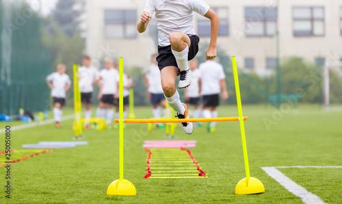 Fotografia Soccer Player on Fitness Training