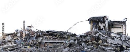 Fotografie, Obraz Ruined building