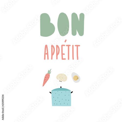 bon apetit cooking Tapéta, Fotótapéta