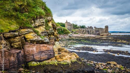 Photo Castle Sands Beach St Andrews Scotland