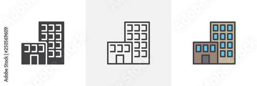 Fotografia Office building icon