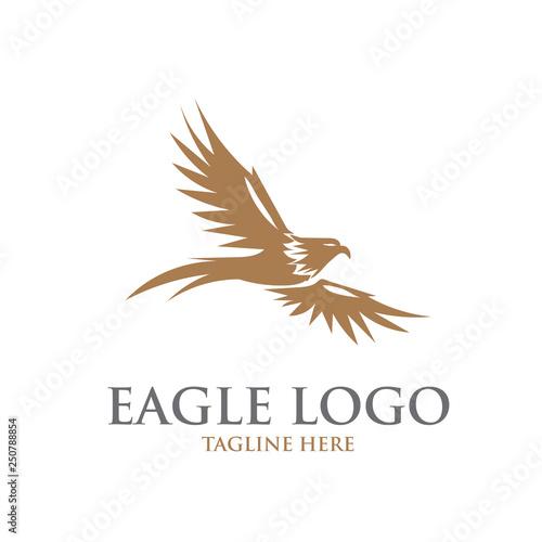 Wallpaper Mural eagle logo designs simple elegant
