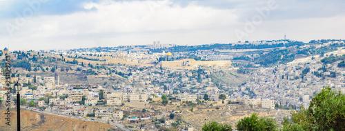 Canvas Print The Old City of Jerusalem