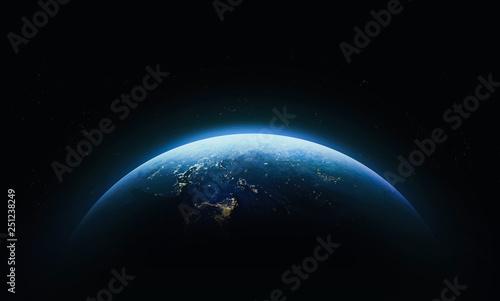 Fotografia, Obraz Planet Earth in outer space