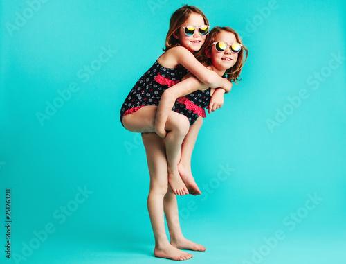 Photo Girls having fun together