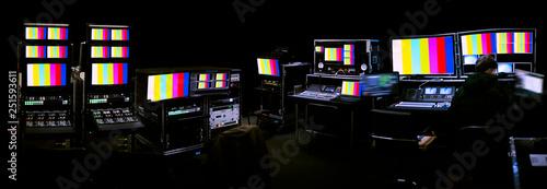 Fotografía TV studio