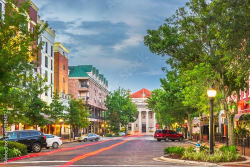 Fotografija Gainesville, Florida, USA downtown
