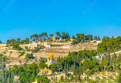 Fototapeta Church of Mary Magdalene in Jerusalem, Israel