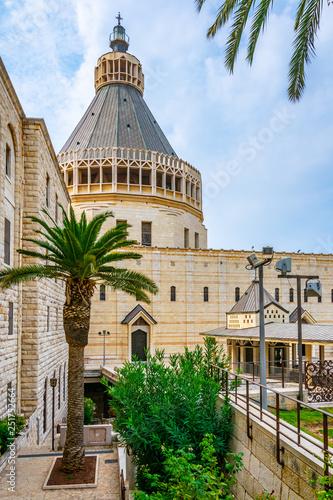 Photo Basilica of the annunciation in Nazareth, Israel