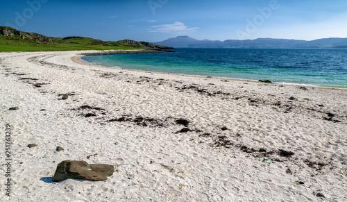 Obraz na plátně Coral beach at Isle of Skye, Scotland