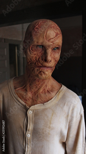 Photo Scarred Face 5