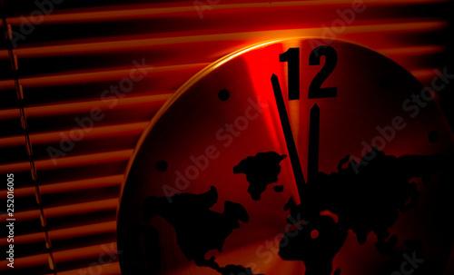 Canvas Print Doomsday Clock