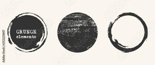 Valokuva Grunge vector shapes