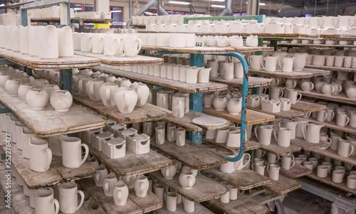 Fotografia tableware manufacturing plant