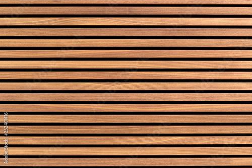Tableau sur Toile Wooden slats