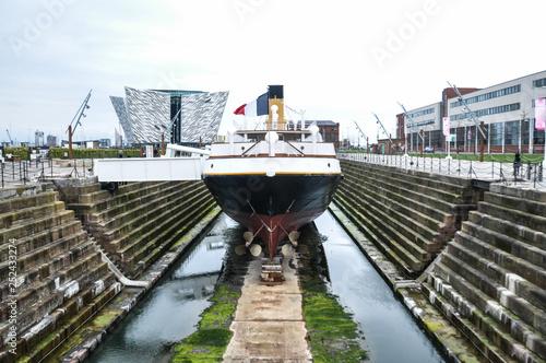 Slika na platnu Titanic Docks - Belfast - North Ireland