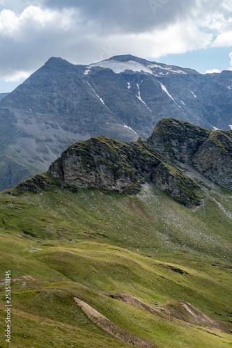 The idyllic moutains in the Gasteiner Tal near Bad Gastein, Austria
