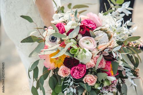 Przepiękny, stylowy  bukiet kwiatów