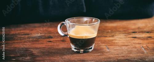 Obraz na płótnie Waiter and a cup of espresso