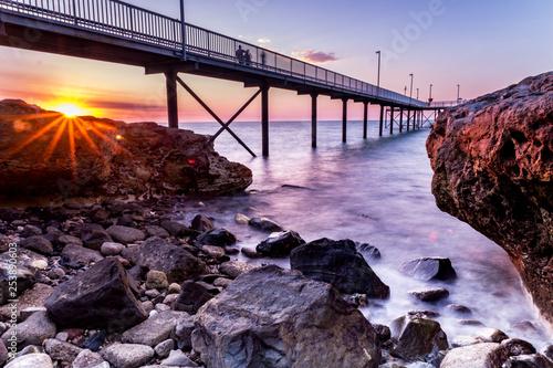 Canvastavla Nightcliff Jetty Sunset, Darwin, NT, Australia