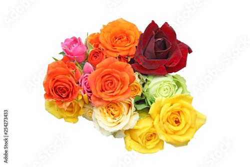 Leinwand Poster 薔薇の花束