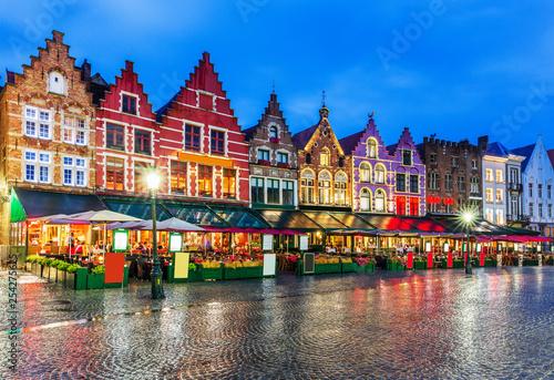 Fototapeta premium Brugia, Belgia.