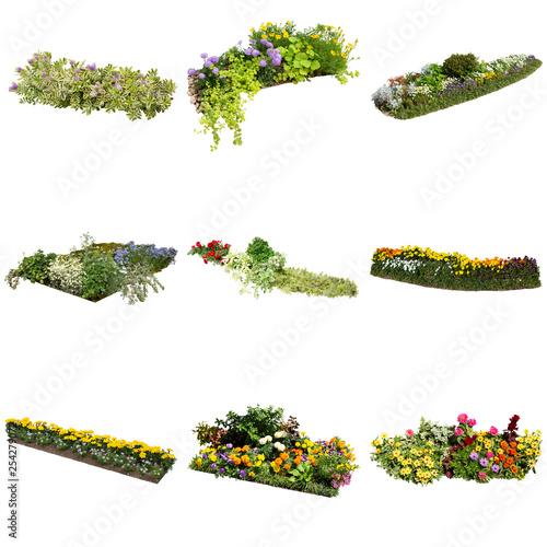 Canvas-taulu 花壇寄せ植え素材