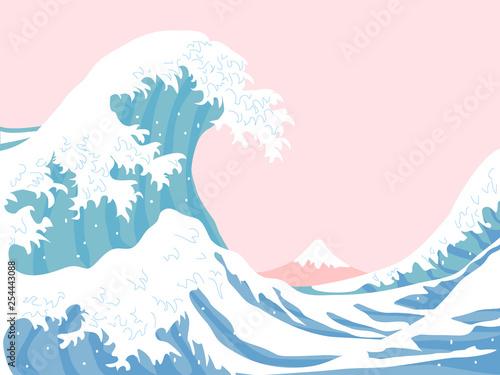 Slika na platnu The great wave
