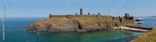 Obraz na płótnie Peel Castle, Isle of Man, British isles