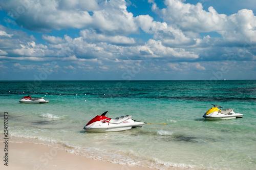 Obraz na plátně Grand Bahama Island Taino Beach