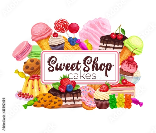 Confectionery and sweet