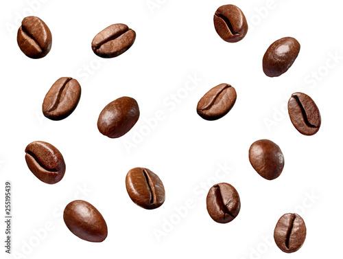 coffee bean brown roasted caffeine espresso seed Fototapet
