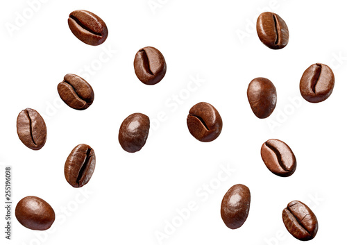 coffee bean brown roasted caffeine espresso seed Fototapeta