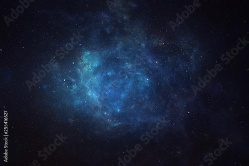 Fotografia Universe filled with stars, nebula and galaxy