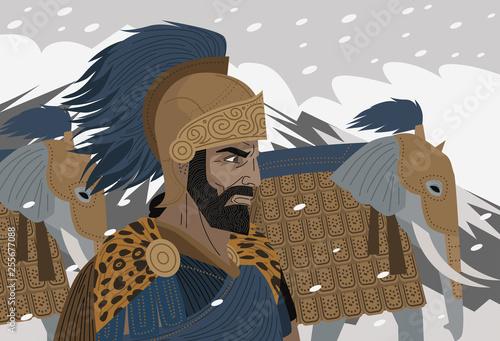 Wallpaper Mural great ancient general hannibal barca