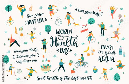 Fotografering World Health Day
