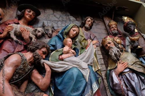 Tablou Canvas Nativity Scene, altarpiece in the church of Saint Matthew in Stitar, Croatia
