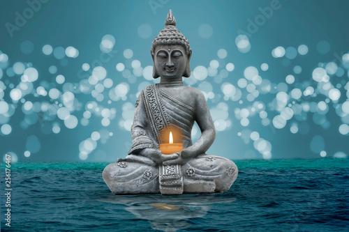 buddha and silence Fototapete