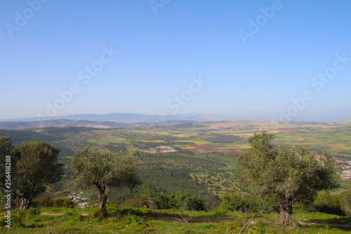 Fényképezés Mount Tabor in the Lower Galilee region of Northern Israel, Jezreel Valley, Afula, Tiberias, Israel
