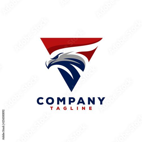 eagle logo design Fototapeta